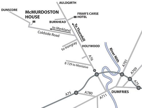Directions to McMurdoston